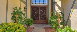 First Impression Double Security Doors