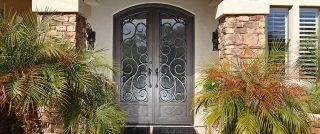First Impression Powder Coated Door