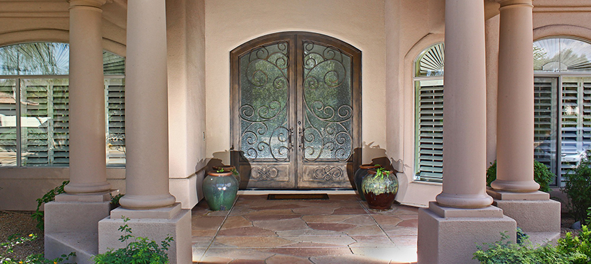 3 Big Benefits of Iron & Glass Entry Doors