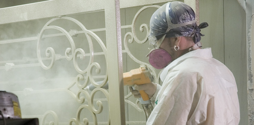 Paint vs. Powder Coat: What's Best for Iron Products?
