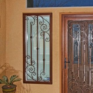 Athens & Security Window Guards Product | First Impression Security Doors