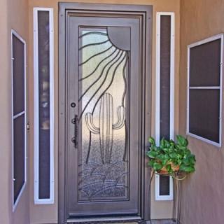 Theme & Iron Entry Doors | Wrought Iron Doors | Steel Door | Phoenix