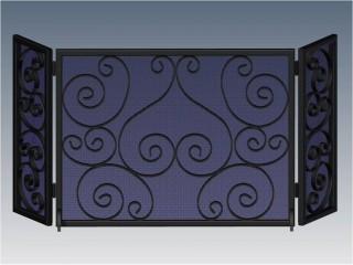 Napa Fireplace Screen