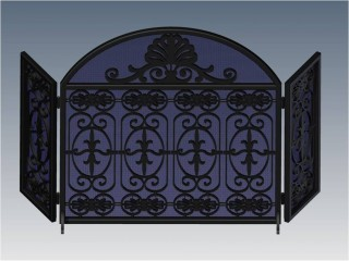 Park Avenue Royal Arched Fireplace Screen
