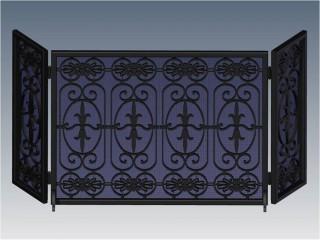 Park Avenue Royal Fireplace Screen