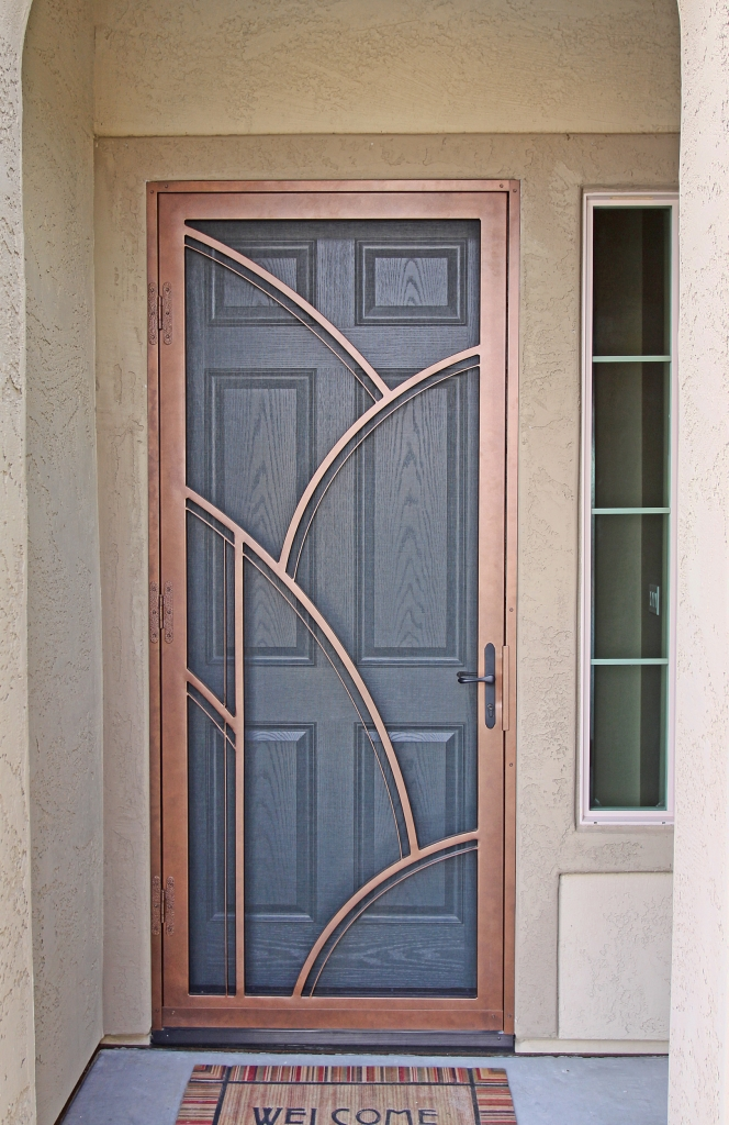 Art Deco & Art Deco | First Impression Security Doors