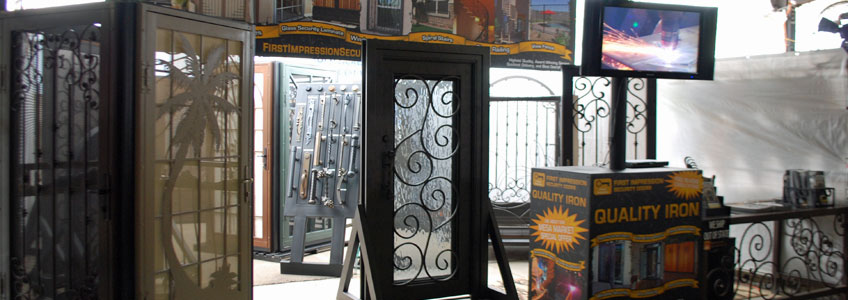 Mesa Marketplace Showroom – First Impression Ironworks
