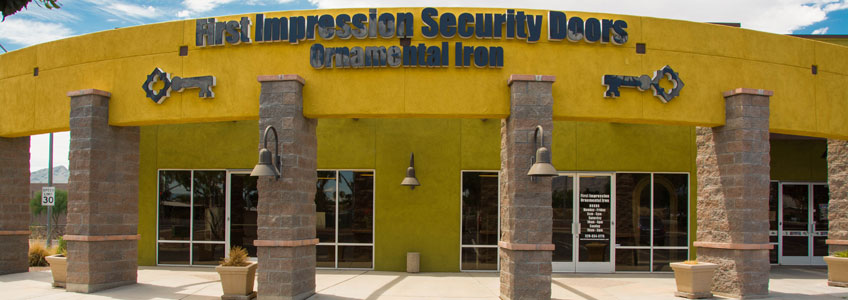 Tucson Showroom – First Impression Ironworks